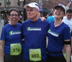 Deb, Steve and me at the start of the race.