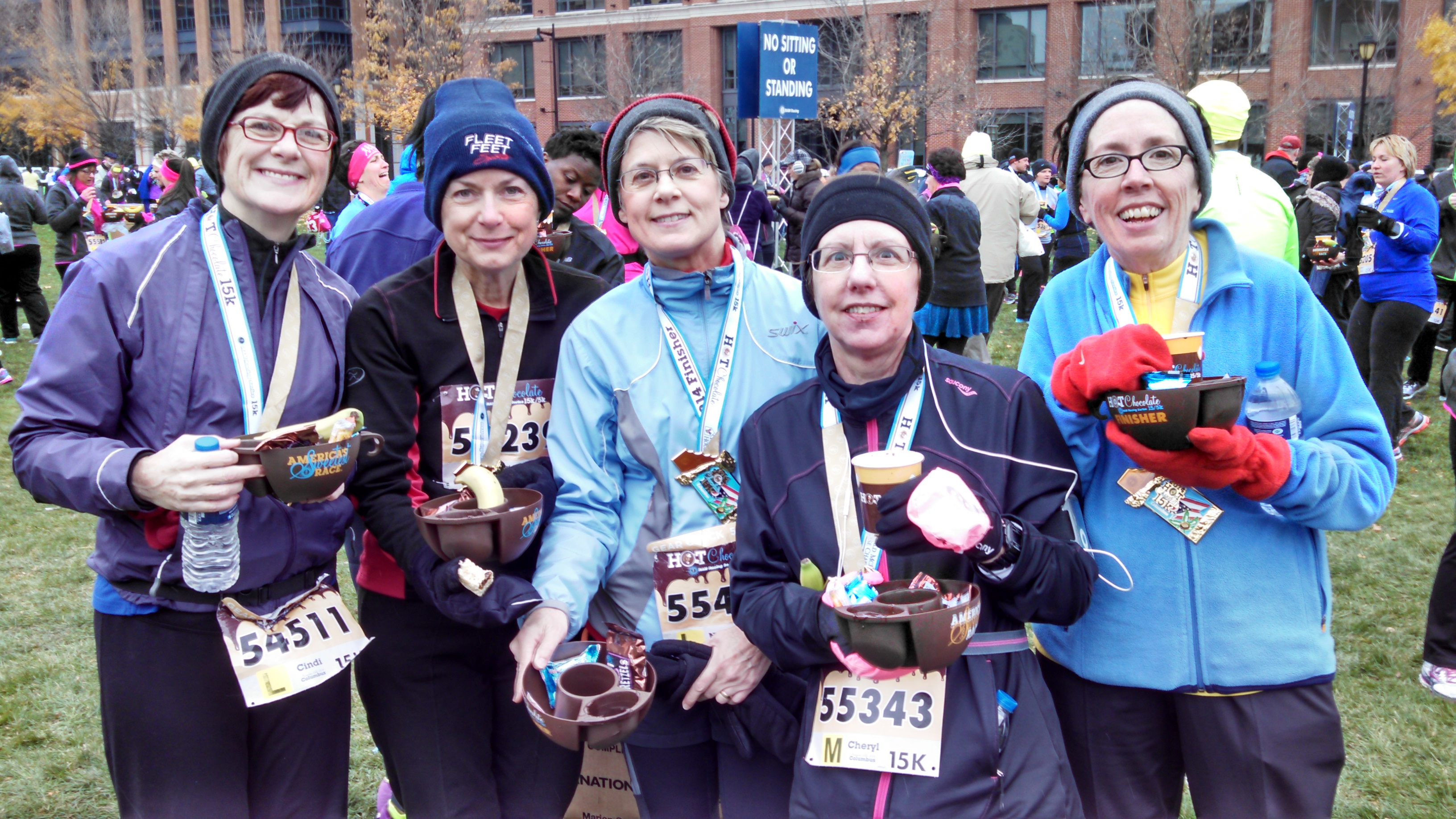 Hot Chocolate 15k Columbus - Pumpkin Chocolate Chip Cookies